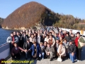 2008 październik, BIESZCZADY zapora w Solinie, Grupa z Kalisza