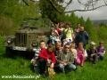 2008 maj, BIESZCZADY przy gaziku Lutka Pińczuka pod Połoniną Wetlińską, Wycieczka z Kobli