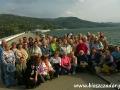 2007 wrzesień, BIESZCZADY na koronie zapory wodnej w Solinie, Grupa z Kościerzyny