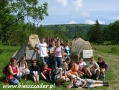 2005 lipiec, BIESZCZADY na Przełęczy Wyżnej, Grupa z Krośniewic