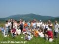 2006 lipiec, BIESZCZADY z widokiem na Połoninę Wetlińską, Grupa z Michałowic