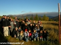 2006 październik, BIESZCZADY przy schronisku Pod Małą Rawką 920m, Grupa z Mielca - klasa I b, II LO im. Mikołaja Kopernika w Mielcu