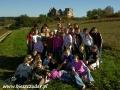 2006 październik, BIESZCZADY ruiny klasztoru karmelitów bosych w Zagórzu, Wycieczka z Nienadowej