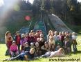2006 październik, BIESZCZADY skocznie narciarskie w Zagórzu, Wycieczka z Nienadowej