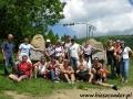 2006 lipiec, BIESZCZADY przy szlaku na Połoninę Wetlińska, Wycieczka z Olsztyna