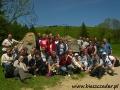 2008 czerwiec, BIESZCZADY wędrówka na Połoninę Wetlińska, Grupa z Warszawy