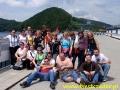 2009 czerwiec, BIESZCZADY na zaporze wodnej w Solinie, Grupa z Porajowa