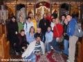 2009 październik, BIESZCZADY w cerkwi w Morochowie, Grupa z Radomia