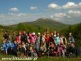 2007 maj, BIESZCZADY z widokiem na Połoninę Caryńska, Grupa z Radymna