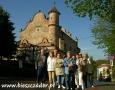 2007 maj, BIESZCZADY synagoga w Lesku, Grupa z Rumi