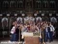 2008 październik, BIESZCZADY wnętrze cerkwi w Rzepedzi z 1823r., Wycieczka z Tucholi