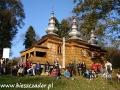 2010 październik, BIESZCZADY cerkiew w Rzepedzi z 1823r., Grupa z Tucholi