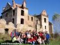 2010 październik, BIESZCZADY ruiny klasztorne karmelitów bosych w Zagórzu, Wycieczka z Tucholi