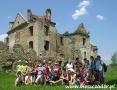 2007 maj, BIESZCZADY ruiny klasztoru w Zagórzu, Wycieczka z Warszawy