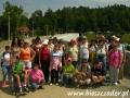 2007 sierpień, BIESZCZADY na zaporze wodnej w Myczkowcach, Wycieczka z Żorów