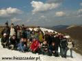 2009 kwiecień, BIESZCZADY na Wielkiej Rawce 1304m, Wycieczka ze Stalowej Woli