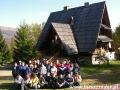 2007 październik, BIESZCZADY przy schronisku pod Małą Rawką 920m, Wycieczka ze Stróży