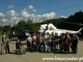2006 wrzesień, BIESZCZADY zwiedzając wnętrze zapory wodnej w Solinie, Wycieczka ze Stróży