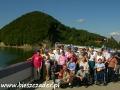 2006 wrzesień, BIESZCZADY na koronie zapory wodnej w Solinie, Wycieczka ze Stróży