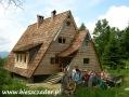 2005 lipiec, BIESZCZADY schronisko Chata Socjolowa na Otrycie, Wycieczka ze Szczecina