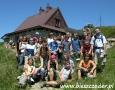 2006 lipiec, BIESZCZADY schronisko Chatka Puchatka na Połoninie Wetlińskiej 1228m, Harcerze z Otwocka