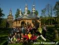 2007 wrzesień, BIESZCZADY cerkiew w Turzańsku 1803r., Wycieczka ze Żnina, Bydgoszczy i Torunia