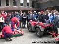 2005 kwiecień, RABKA zajęcia z ratownikami GOPR, Gimnazjum z Sanoka
