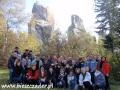 2010 październik, SKAŁY PRZĄDKI rezerwat koło Krosna, Grupa z Jaworzna