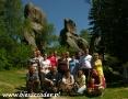 2008 czerwiec, SKAŁY PRZĄDKI rezerwat koło Krosna, Grupa z Warszawy