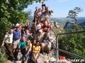 2008 sierpień, PIENINY na Sokolicy 713m, Wycieczka z Tucholi