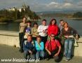 2006 październik, PIENINY Zamek w Niedzicy, Wycieczka z Libiąża