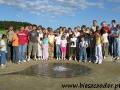 2005 czerwiec, SŁOWACJA nad gejzerem w pobliżu Spisskiego Hradu, Wycieczka z Radymna