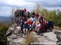 2008 wrzesień, SŁOWACJA skały wulkaniczne w okolicach Sniny, Wycieczka z Bydgoszczy, Żnina i Torunia