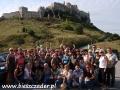 2008 sierpień, SŁOWACJA ruiny zamku Spisski Hrad, Wycieczka z Radomia