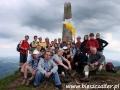 2009 czerwiec, UKRAINA na najwyższym szczycie Bieszczad - Pikuj 1408m, Wycieczka z Bydgoszczy, Żnina i Torunia