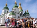 2010 październik, UKRAINA Kijów sobór sofijski z 1037r.!, Wycieczka Gorlice - Krosno - Jasło