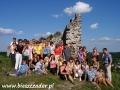 2009 lipiec, UKRAINA zamek królowej Bony w Krzemieńcu, Wycieczka z Chojnic
