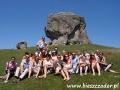 2009 lipiec, UKRAINA Diabelski Kamień w Podkamieniu, Wycieczka z Chojnic
