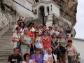 2010 wrzesień, UKRAINA Krym monastyr uspieński podczas wędrówki do miasta w skale - Czufut Kale, Wycieczka Gorlice - Krosno - Jasło