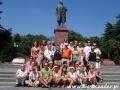 2009 sierpień, UKRAINA Krym pomnik Lenina w Jałcie, Wycieczka z Tucholi