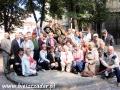 2010 wrzesień, UKRAINA Lwów przy pomniku Nikifora, Wycieczka z Chojnic