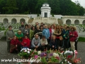 2008 maj, UKRAINA Lwów cmentarz Orląt Lwowskich, Wycieczka z Częstochowy