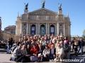 2009 kwiecień, UKRAINA Lwów Opera, Wycieczka z Tucholi