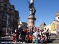 2009 kwiecień, UKRAINA Lwów pomnik A. Mickiewicza, Wycieczka z Tucholi