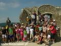 2007 czerwiec, WĘGRY na ruinach zamku Fuzer, Wycieczka z Małkowic