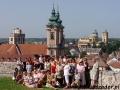 2010 czerwiec, WĘGRY panorama ze wzgórza zamkowego na Eger, Wycieczka z Radomia