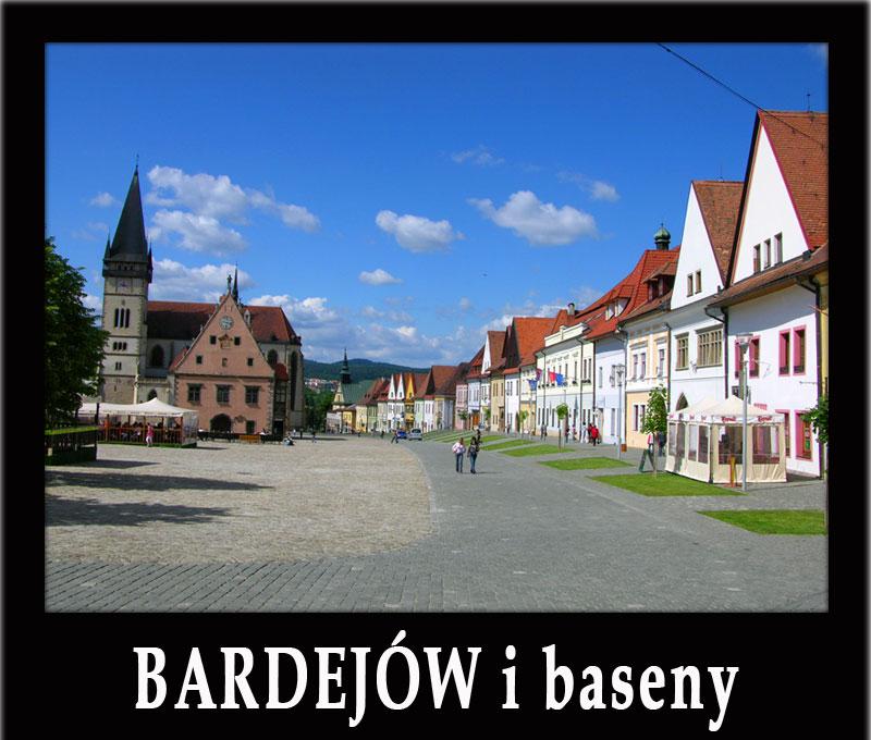 BARDEJÓW wycieczka: ruiny zamku Brekov, Bardejowskie Kupele, baseny Aquaruthenia i Wodny Świat Svidnik, skansen Svidnik i inne atrakcje