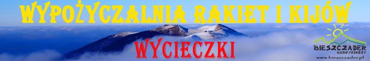 Bieszczady WYPOŻYCZALNIA rakiet śnieżnych i kijów trekkingowych