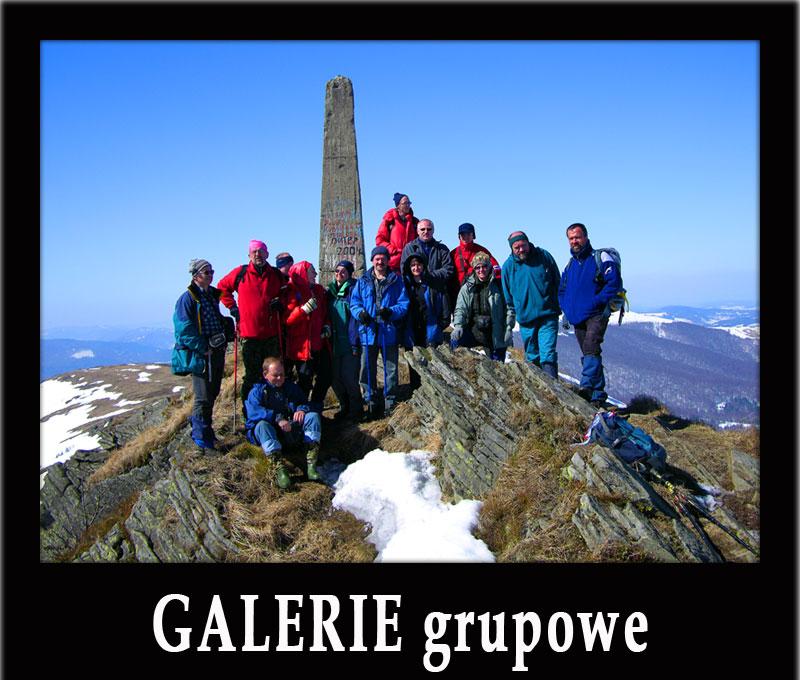 GALERIE ZDJĘĆ GRUPOWYCH z wycieczek organizowanych przez BP Bieszczader