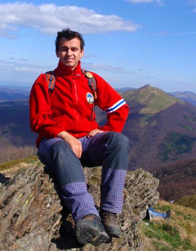 Przewodnik górski po Bieszczadach - MARIUSZ
